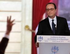 Hollande, balle au pied