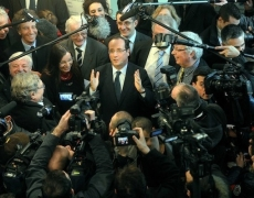 Hollande et les journalistes: combien de fois?
